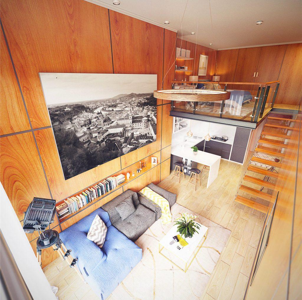 moradias em loft