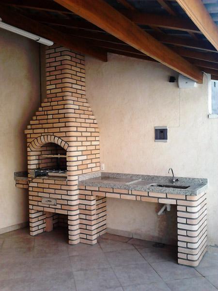 ideias para construir churrasqueira