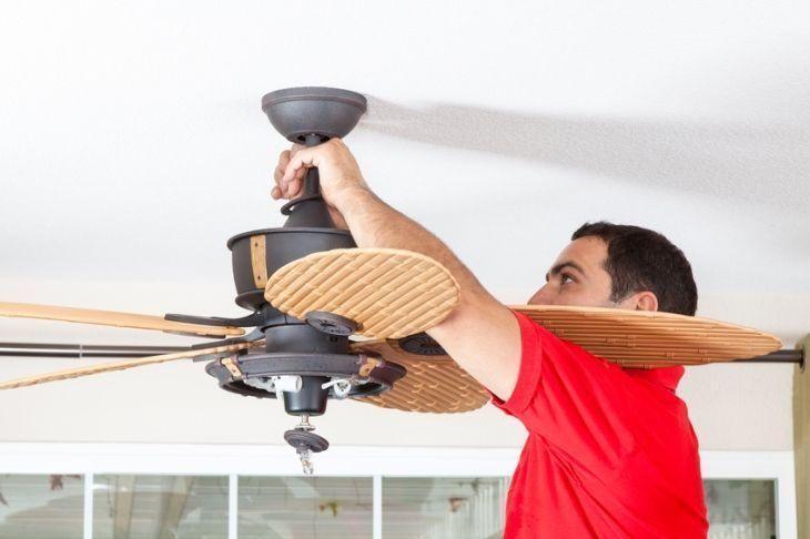 como instalar ventilador teto