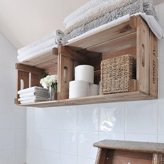 decorar banheiro pequeno caixote