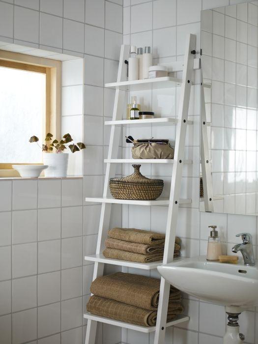 decorar banheiro pequeno escada