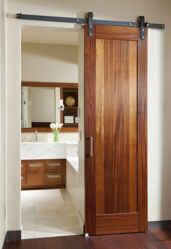 decorar banheiros pequenos porta