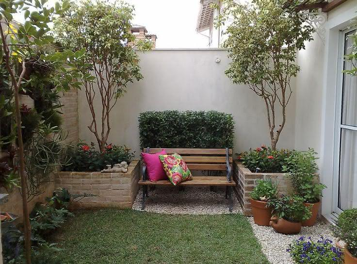 jardim quintal pequeno