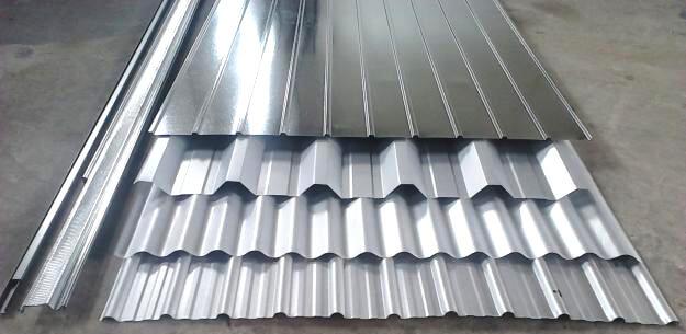 tipos telhas metalicas