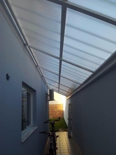 tipos telhas policarbonato