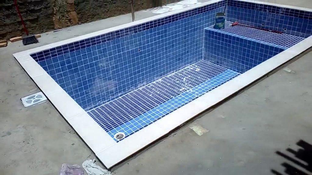 piscina de concreto