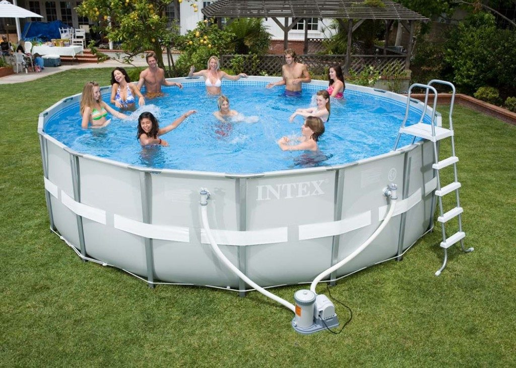 piscina plastico portatil