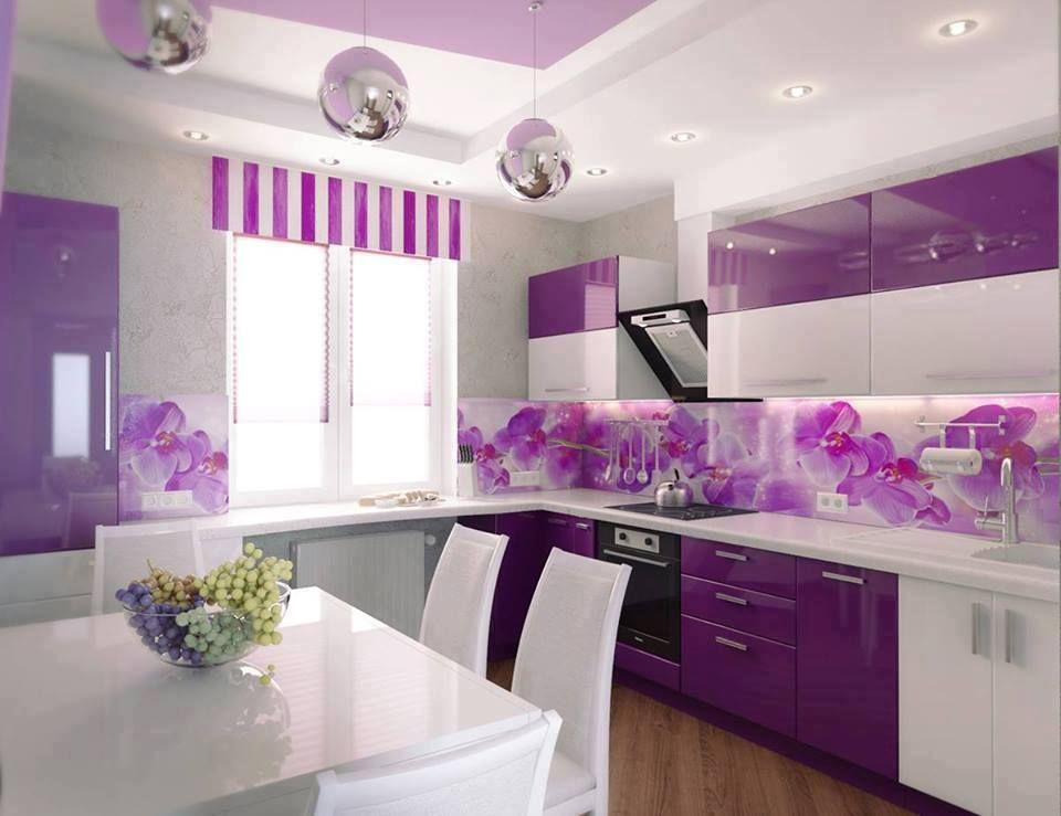 cozinha roxo lilas