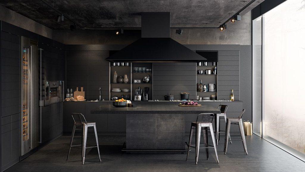 cozinha total black