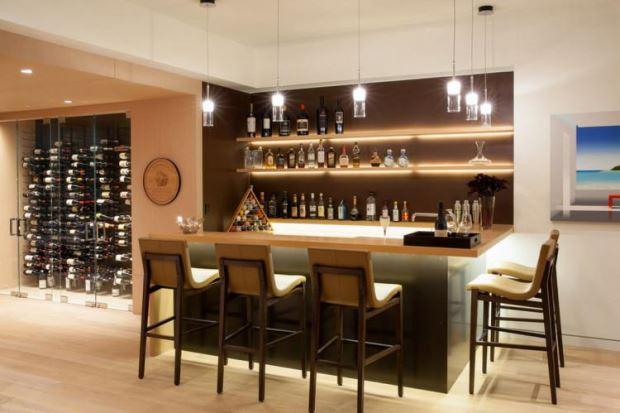 espaço para bebidas