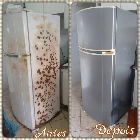 geladeira nova envelopada