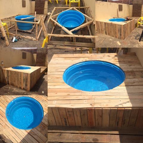 piscina caseira