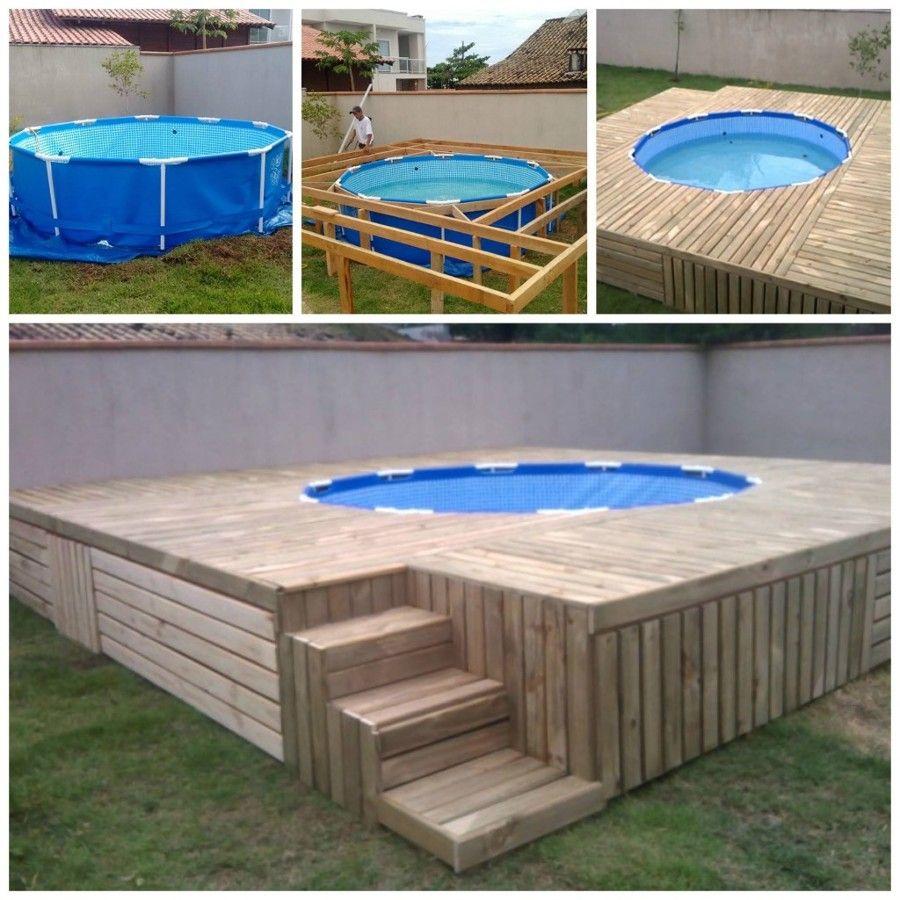piscina deck